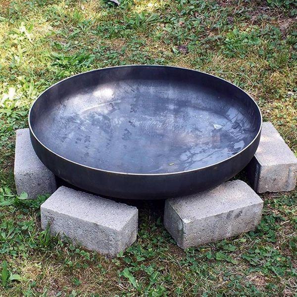 Czaja Klöpperboden Ø 70 cm, Feuerstelle, Feuerschale, Grill für Garten und Terrasse…