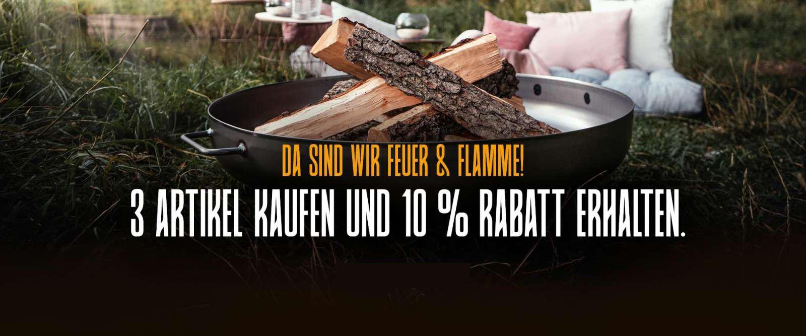 Czaja Feuerschalen-Rabatt-Aktion