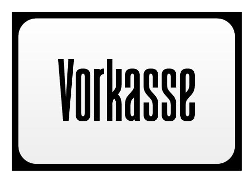 Zahlung via Vorkasse